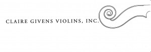 Claire Givens Violins Logo