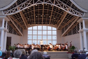 The Minnesota Sinfonia at Lake Harriet (Photo Credit: Tim Nolan)