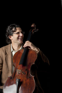 Concert soloist Amit Peled, cellist